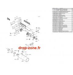 Echappement SX-R 1500 17-20