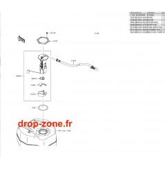 Pompe à essence SX-R 1500 17-20