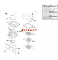 Filtre à air SX 650 93