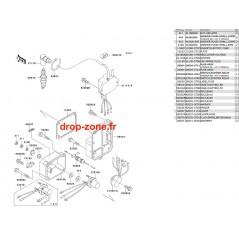 Bobine allumage SX 650 93