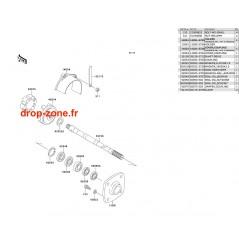 Transmission SX 650 93