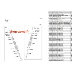 Soupapes STX-15F 04-05/ STX-12F