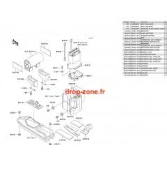 Pièces de coque SX 650 93