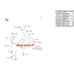 Supports moteur SX 650 95