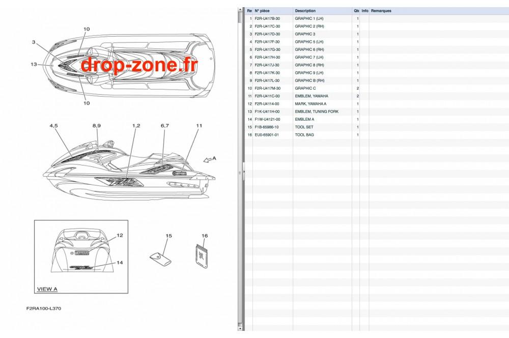 stickers fzr sho 12  u203a drop zone unlimited