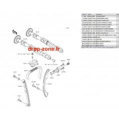 Arbres à cames STX-15F 11-19/ Ultra LX 12-20/ SX-R 1500 17-20/ STX 160 20
