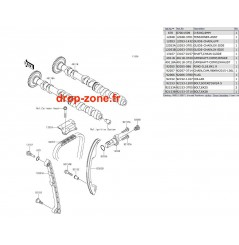 Arbres à cames STX-15F 11-17/ Ultra LX 12-17/ SX-R 1500 17