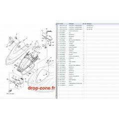 Capot VX Cruiser 12/ VX Deluxe 12