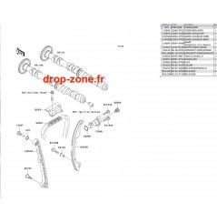 Arbres à cames STX-12F