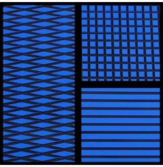 TAPIS HYDROTURF EN ROULEAU ROYAL BLUE / BLACK
