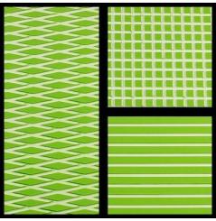 TAPIS HYDROTURF EN ROULEAU LIME GREEN / WHITE