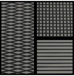 TAPIS HYDROTURF EN ROULEAU DARK GRAY / BLACK