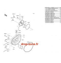 Couvercles moteur STX 1100 02