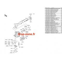 Pièces carburateur STX 1100 02
