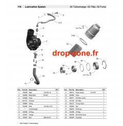 Pompe à huile/ filtre et accessoires