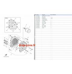 Refroidisseur huile FX HO 09-11/ FX HO Cruiser 09-11/ VXR 11/ VXS 11