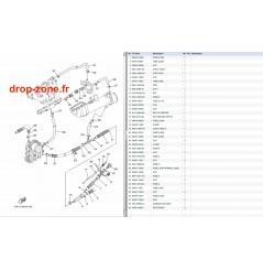 Echappement 2 FX HO 09-11/ FX HO Cruiser 09-11/ VXR 11/ VXS 11