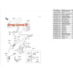 Guidon STX 1100 02/ STX-R 1200 04/ STX 900 06
