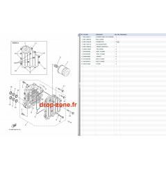 Refroidisseur huile FX SHO 11/ FX SHO Cruiser 11/ FZR-FZS SHO 11