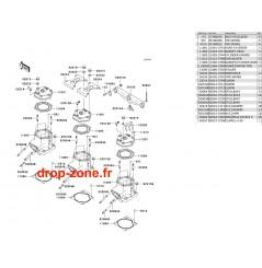 Cylindre/ Culasse STX-R 1200 04/ Ultra 150 04
