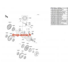 Vilebrequin/ Pistons STX-R 1200 04/ Ultra 150 04