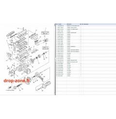 Kit réparation FX SHO Cruiser 08-11/ FX SHO 08-11/ FZR-FZS SHO 09-11