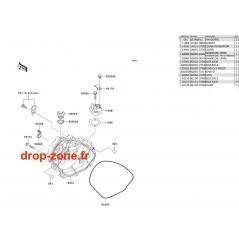 Couvercles moteur STX-R 1200 04/ Ultra 150 04
