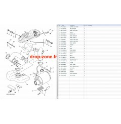 Echappement 3 FZR-FZS SHO 11