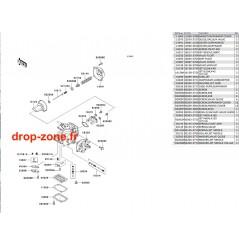 Pièces carburateur STX-R 1200 04/ Ultra 150 04