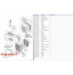Radiateur d'huile VX Cruiser 11/ VX Deluxe 11/ VX Sport 11