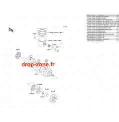 Vilebrequin/ Pistons STX 1100 02