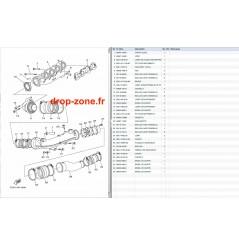 Echappement 1 VX Cruiser 08-11/ VX Deluxe 08-11/ VX Sport 10-11/ VX 08-09