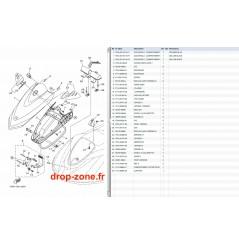 Capot VX Cruiser 11/ VX Deluxe 11