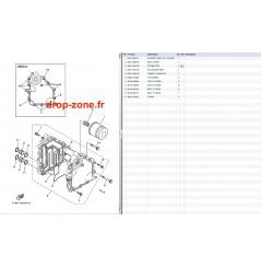 Refroidisseur huile FX SHO Cruiser 08-10/ FX SHO 08-10/ FZR-FZS 09-10