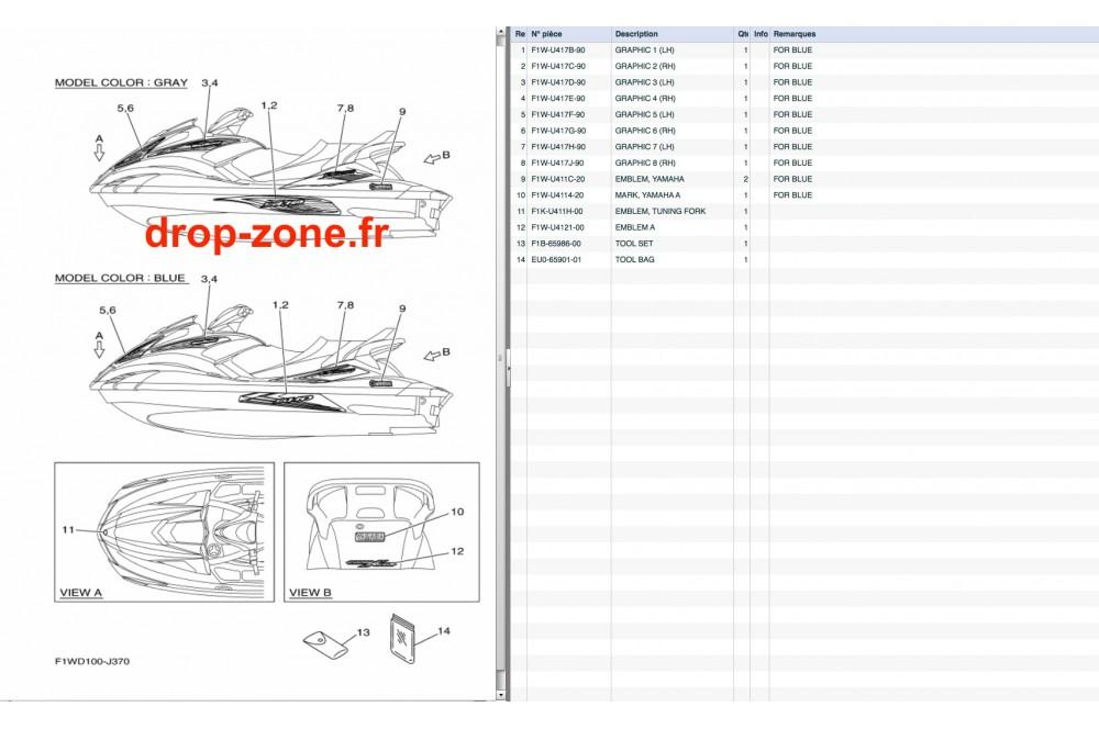 stickers fx sho cruiser 10  u203a drop zone unlimited