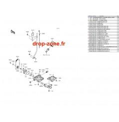 Pompe à huile SX-R 1500 17-20