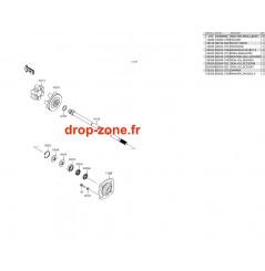 Arbre de transmission SX-R 1500 17-20