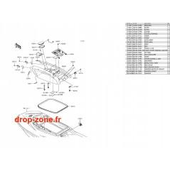 Capot SX-R 1500 17-18