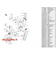 Bras SX-R 1500 17-18