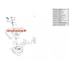 Réservoir SX-R 1500 17-20