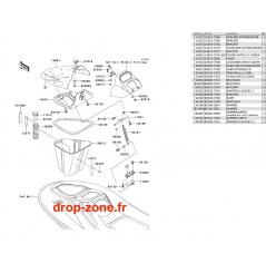 Coque avant STX-R 1200 04
