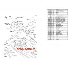 Coque milieu STX-R 1200 04