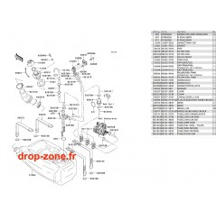 Réservoir carburant STX-R 1200 04