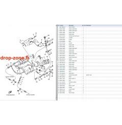 Echappement 2 GP 1300 R 07-08