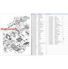 Plaque/ Ecope/ Turbine GP 1300 R 07-08