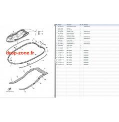 Tapis/ Listons GP 1300 R 08