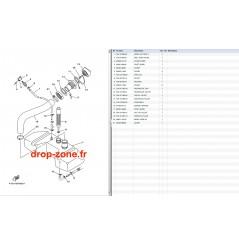 Réservoir d'huile GP 1300 R 07-08