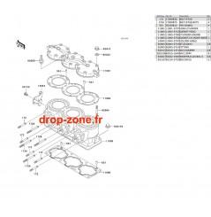 Cylindre/ Culasse STX 900 06