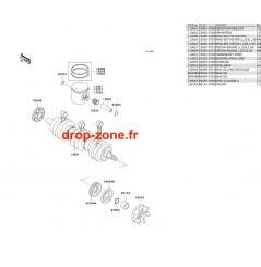 Vilebrequin/ Pistons STX 900 06