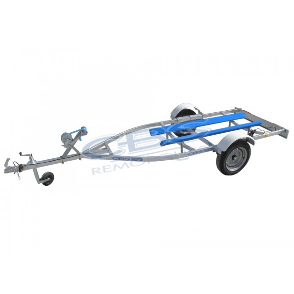 Remorque pour Jet à selle 2-3 places 390 kgs